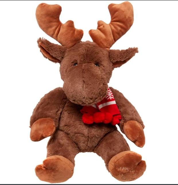 1. Marvin the Moose toy . Was £18. Now £9. House of Fraser.