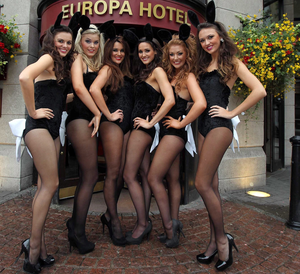 The Penthouse Poppets at the Europa Hotel, Belfast