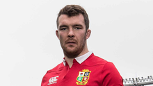 Leading man: Peter O'Mahony is ready to skipper the Lions. Photo: Billy Stickland/INPHO