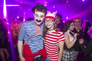 Halloween Disco at the Limelight. Friday 30 October 2015. Picture by Liam McBurney/RAZORPIX
