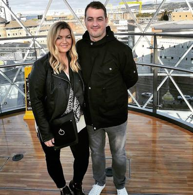 Edele and Shane McFlynn, parents of Aoibhine