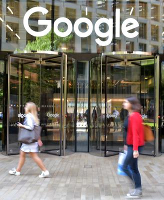 Google's London HQ is now worth £290 million, according to accounts (Nick Ansell / PA)