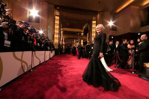 HOLLYWOOD, CA - MARCH 02:  Actress Glenn Close attends the Oscars held at Hollywood & Highland Center on March 2, 2014 in Hollywood, California.  (Photo by Christopher Polk/Getty Images)