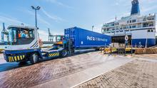 Blow: P&O said ticket sales on the service did not cover its costs