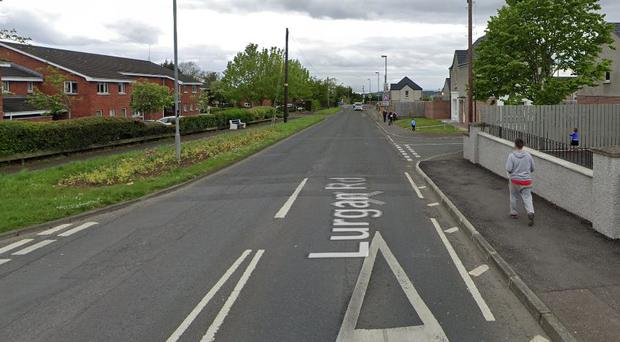 Police raided a property in the Lurgan Road area of Crumlin. Pic Google Maps.