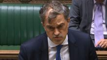 Secretary of State Julian Smith addressing the House of Commons
