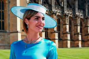 Delfina Blaquier arrives at St George's Chapel at Windsor Castle for the wedding of Prince Harry and Meghan Markle. PRESS ASSOCIATION Photo. Picture date: Saturday May 19, 2018. See PA story ROYAL Wedding. Photo credit should read: Chris Jackson/PA Wire