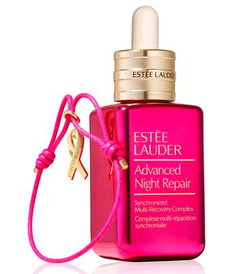Estee Lauder Limited-Edition Pink Advanced Night Repair Synchronized Multi-Recovery Complex with pink ribbon bracelet, £82