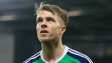 Big boost: Jamie Ward is back after missing five NI games.  Photo: David Maginnis/Pacemaker