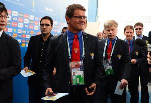 COSTA DO SAUIPE, BRAZIL - DECEMBER 06:  Russia coach Fabio Capello arrives for the Final Draw for the 2014 FIFA World Cup Brazil at Costa do Sauipe Resort on December 6, 2013 in Costa do Sauipe, Bahia, Brazil.  (Photo by Buda Mendes/Getty Images)