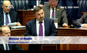 Health Minister Robin Swann. Picture: NI Assembly