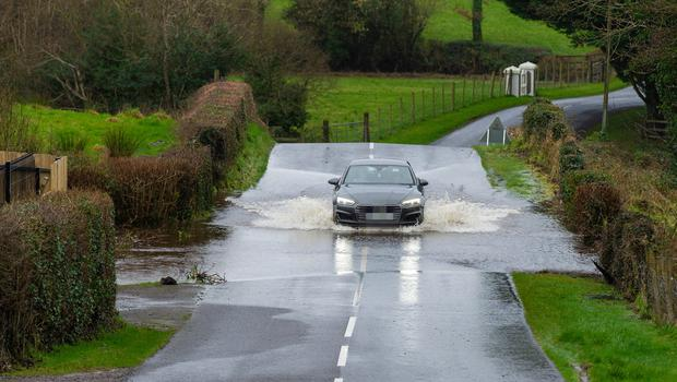 PACEMAKER BELFAST  09/02/2020 There were several roads throughout Fermanagh closed following the torrential rain brought by Storm Ciara.  Picture: Ronan McGrade/Pacemaker Press