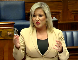 Deputy First Minister Michelle O'Neill in the Assembly on Tuesday.