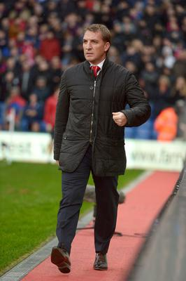 Liverpool manager Brendan Rodgers prior to the Barclays Premier League match at Selhurst Park, London. Adam Davy/PA Wire.