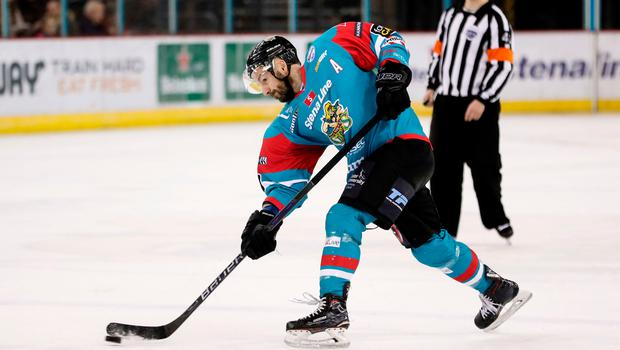 Back again: Colin Shields has re-signed for the Giants
