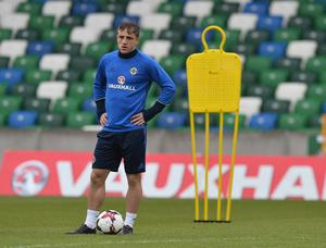 Joel Cooper has been handed his first call-up to the senior Northern Ireland squad.
