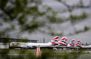 British Airways planes at Heathrow Airport (PA)