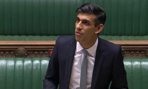 Chancellor of the Exchequer Rishi Sunak (House of Commons/PA)