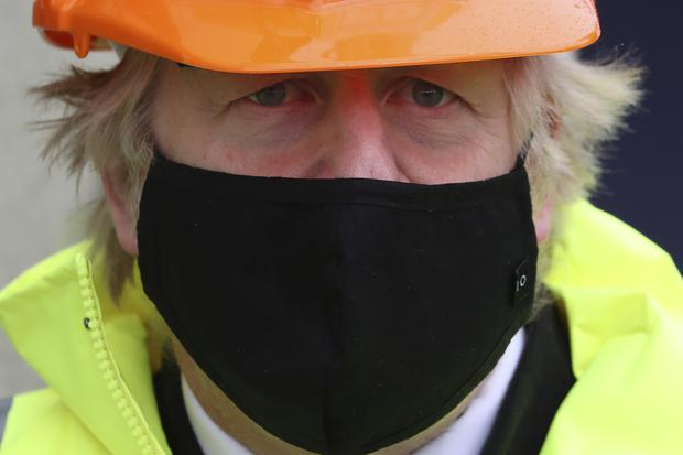 Prime Minister Boris Johnson was asked about the protocol issues during a visit to Teesport in Middlesbrough on Thursday (Scott Heppell/PA)