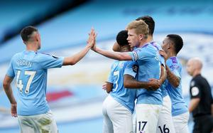 Kevin De Bruyne inspired City to a confident victory (Dave Thompson/NMC Pool/PA)