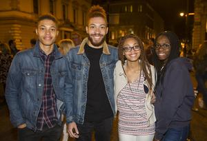 People out for Culture Night.  Friday 16th September 2016. Picture by Liam McBurney/RAZORPIX