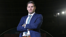 Tightening up: Adam Keefe is hoping to leak fewer goals