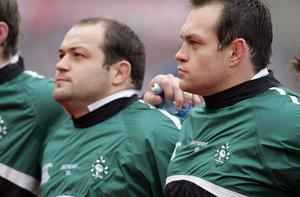 RBS Six Nations 4/2/2006 Ireland  Rory Best and Simon Best Mandatory Credit ©INPHO/Andrew Paton