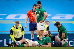 Ulster face a nervous wait over Iain Henderson's knee injury.