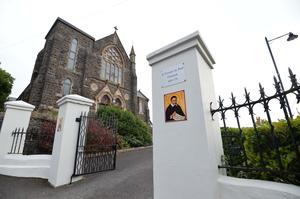Parochial house in north Belfast has been burgled by a man wielding an axe. Pic Pacemaker