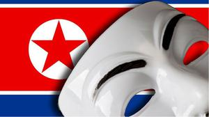 Image posted by Anonymous on North Korea's Flickr account