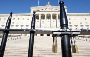 Stormont has been plunged into a fresh crisis after unionists joined forces to warn of an action plan to protest against the ban on a Twelfth Orange Order return parade through Ardoyne