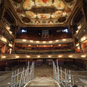 After five years in the planning, the 10-month project to restore the Grand Opera House has begun.