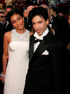 FILE - 21 APRIL 2016: Musician Prince has reportedly Died at 57 on April 21, 2016. HOLLYWOOD - FEBRUARY 27: Singer Prince and Manuela Testolini arrive at the 77th Annual Academy Awards at the Kodak Theater on February 27, 2005 in Hollywood, California. (Photo by Carlo Allegri/Getty Images)