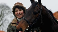 Three-time Gold Cup winner Best mate with trainer Henrietta Knight.