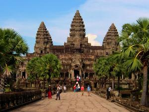 Janice's last holiday took in Cambodia