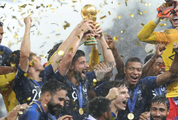 France won the World Cup in 2018.