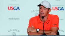 Rory McIlroy at his pre-tournament press conference