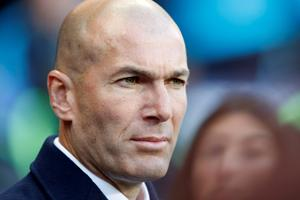 5: Real Madrid manager Zinedine Zidane earns £9.5million per annun