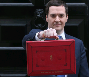 The Chancellor of the Exchequer George Osborne