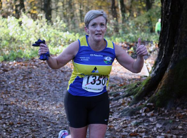 Mandatory Credit - Picture by Freddie Parkinson/Press Eye © Saturday 19th November 2016 Belfast Telegraph Run Forest Run Drum Manor Forest Park, Drum Road, Cookstown BT80 9RT Barbara Fleming-Ovens from Kilkeel