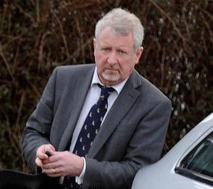 7th February 2011 Professor Philip Lamey at his home today. Dental consultant at the centre of a major health scare which resulted in over 100 patients being recalled to hospital. Royal Victoria Hospital NO BYLINE ON PICTURE