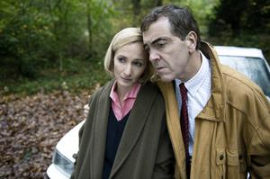 Genevieve O'Reilly and James Nesbitt in The Secret, the dramatisation of Colin Howell and Hazel Buchanan's murder of their partners in Castlerock in Northern Ireland in the 1990s.