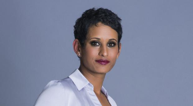 Presenter Naga Munchetty breached editorial guidelines when she made her comments about President Trump, the BBC ruled (Steve Schofield/BBC)