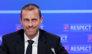 UEFA President Aleksander Ceferin welcomed the news (Niall Carson/PA)