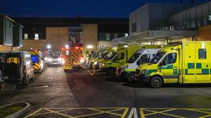 The health service in Northern Ireland continues to face severe pressure amid the coronavirus pandemic (Liam McBurney/PA)
