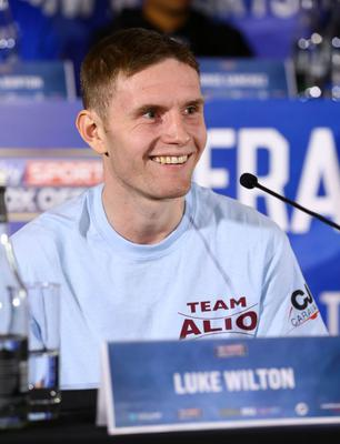 Fighting chance: Luke Wilton has been out for over a year