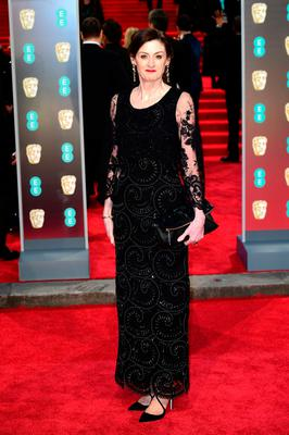 Amanda Berry attending the EE British Academy Film Awards held at the Royal Albert Hall, Kensington Gore, Kensington, London.  PRESS ASSOCIATION Photo. Picture date: Sunday February 18, 2018. See PA Story SHOWBIZ Bafta. Photo credit should read: Ian West/PA Wire.