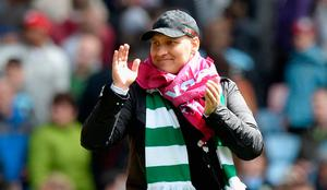 Power game: former Celtic star Stiliyan Petrov feels a stronger Rangers team would benefit Scottish football
