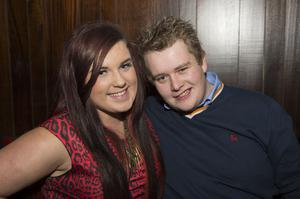 Ollies Christmas pictured niamhbert Murray and Craig Gibson