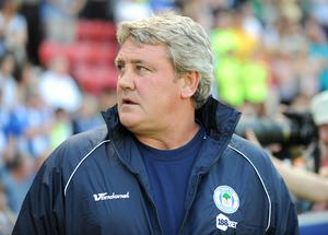Steve Bruce pictured during his time at Wigan (Clint Hughes/PA)
